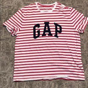 Men's GAP Logo Striped Tee